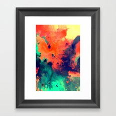 Immerse Framed Art Print