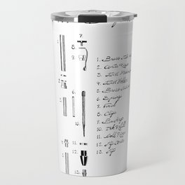 Dissected Pen Travel Mug