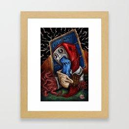 """Window Water Puker"" Framed Art Print"