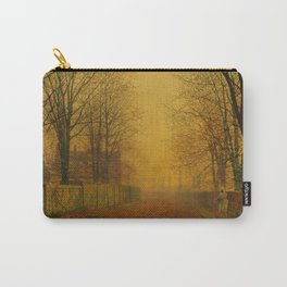 Evening Glow by John Atkinson Grimshaw Carry-All Pouch