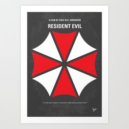No119 My RESIDENT EVIL MMP Art Print