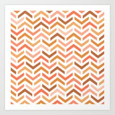 Ripples Dawn Art Print