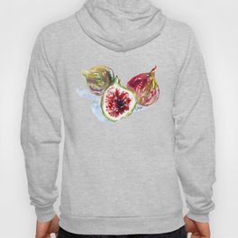 UriKuri Watercolour Figs Hoody