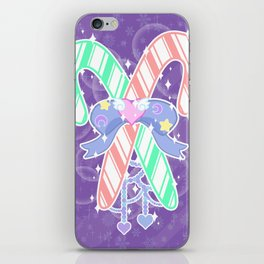 Candy Canes: Fairy Kei Version iPhone Skin