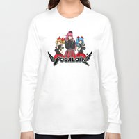 vocaloid Long Sleeve T-shirts featuring Vocaloid / Babymetal by Tigers and Daises (LadyBeemer)