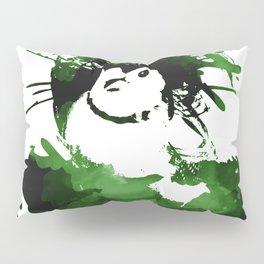 Double-barred Finch Ink Splash Pillow Sham