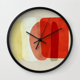 shapes modern abstract Wall Clock