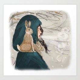 The Snow Queen Art Print