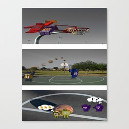 The Game To Play Canvas Print