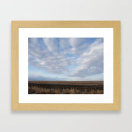 Country Sky Framed Art Print