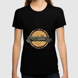 Vintage Wheels: Duesenberg SJ Roadster T-shirt