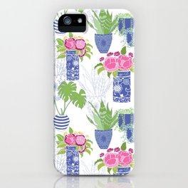 Chinoiserie Cactus iPhone Case