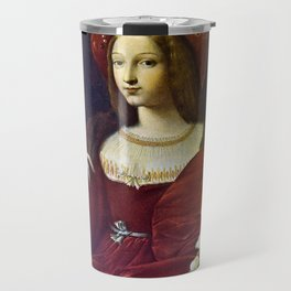 Joanna of Aragon by Raphael Travel Mug