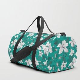 Avery Aqua Duffle Bag