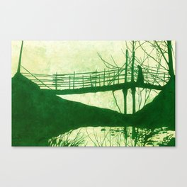 The Cold Walk Home Canvas Print