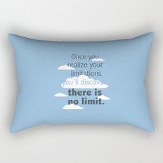 No Limit Rectangular Pillow