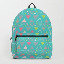 Boho turquoise Backpack