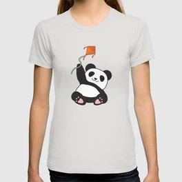 Panda with Kite T-shirt