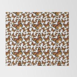 Monarch Butterflies | Monarch Butterfly | Vintage Butterflies | Butterfly Patterns | Throw Blanket