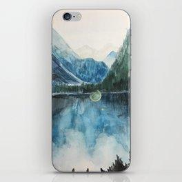 Where Mountains Meet iPhone Skin