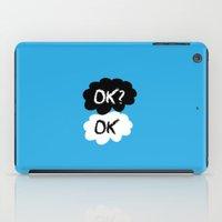 kim sy ok iPad Cases featuring Ok? by Juiuchi