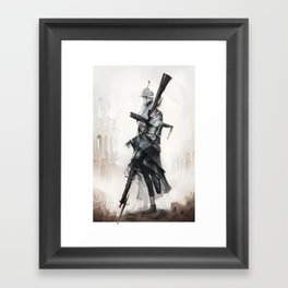 Apparition of War Framed Art Print