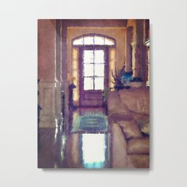 Reflections On Interior Design Metal Print