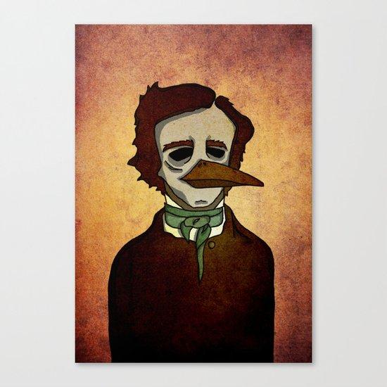 Prophets of Fiction - Edgar Allan Poe /The Raven Canvas Print