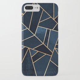 Navy Stone iPhone Case