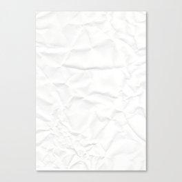 Paper, fold Canvas Print
