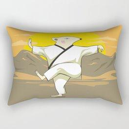Tai Chi Mouse Rectangular Pillow