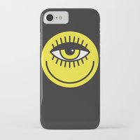 cyclops iPhone & iPod Cases featuring CYCLOPS by Wesley Bird