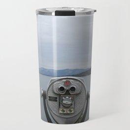 View Of Lake George NY Travel Mug