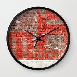 "Mooca - Series ""Districts of São Paulo"" Wall Clock"
