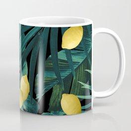Tropical Lemon Twist Jungle Night #1 #tropical #decor #art #society6 Coffee Mug