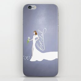Here Comes The Bride! iPhone Skin