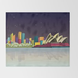 City Sydney Throw Blanket