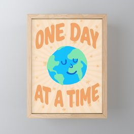 """One Day at a Time"" inspired by Ariane Goldman, Hatch Framed Mini Art Print"