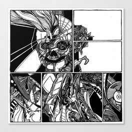 Sokushinbutsu Canvas Print