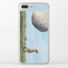 Life Goes On Clear iPhone Case