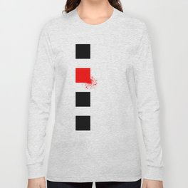 Don't Lose Control (Square) Long Sleeve T-shirt