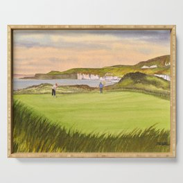 Royal Portrush Golf Course 5th Hole Serving Tray