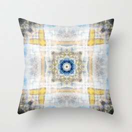 Death Valley National Park: Mustard Canyon Throw Pillow
