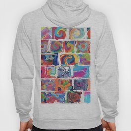 480 - Abstract collection Hoody
