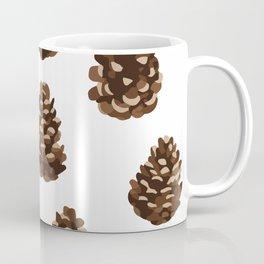Seasonal Pine Cones Coffee Mug