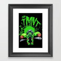 the tmnt Framed Art Print