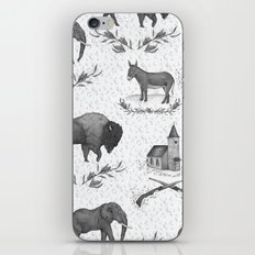 Political Toile iPhone Skin