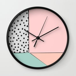 that's so 80's - Holly's home Wall Clock