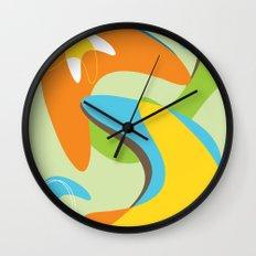 Boomerama Wall Clock