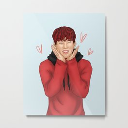 Monsta X - Jooheon Metal Print